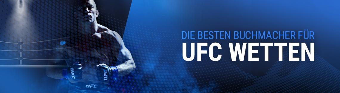 Die besten Buchmacher für UFC Wetten