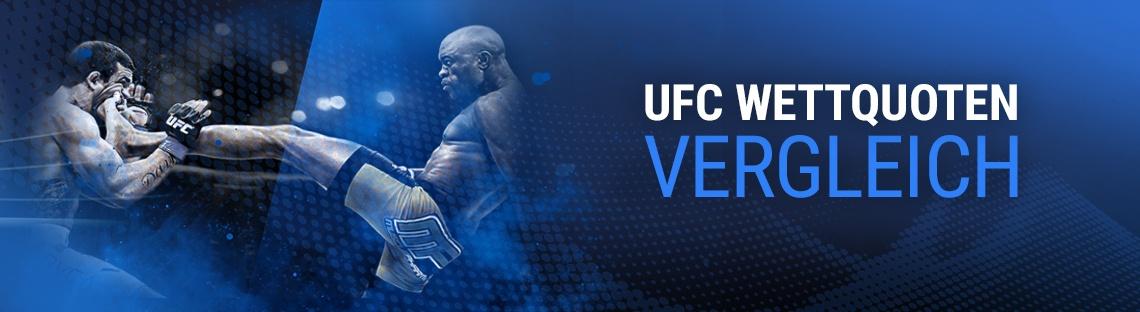 UFC Wettquoten Vergleich